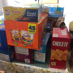 SNACKS FOR SOLDIERS  AT JESUS CHRIST CHURCH OF LATTER DAY SAINTS 2020