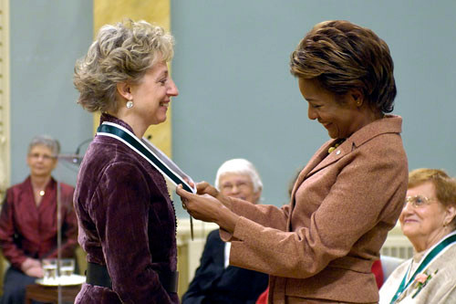 with Michaelle Jean, October 2007