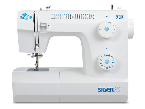 Silver 25-2 Sewing Machine