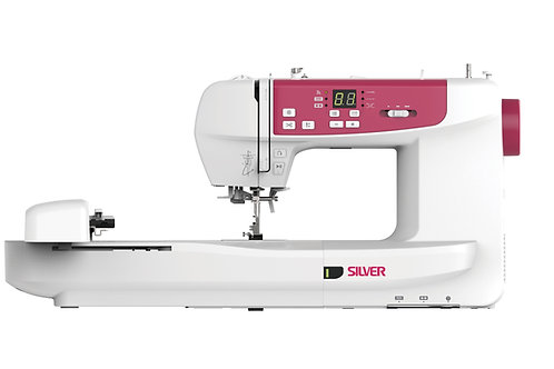 Silver CH03 Embroidery Machine Wifi Enabled