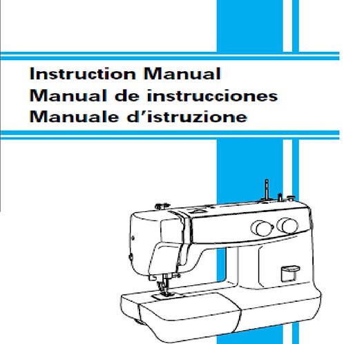 Brother XL 5020 Manual