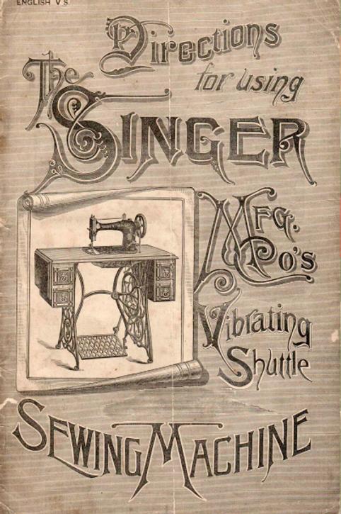 Singer 12K Manual
