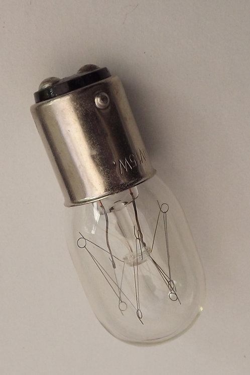 Sewing Machine Bulb 15w 240v Bayonet