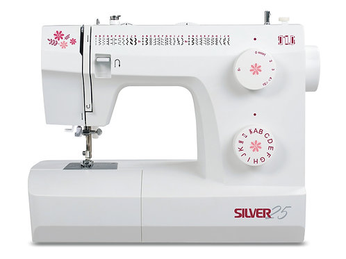 Silver 25-3 Sewing Machine
