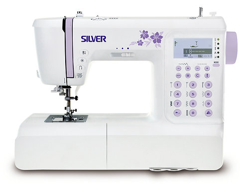 Silver 404 Sewing Machine