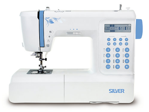 Silver 197 Sewing Machine