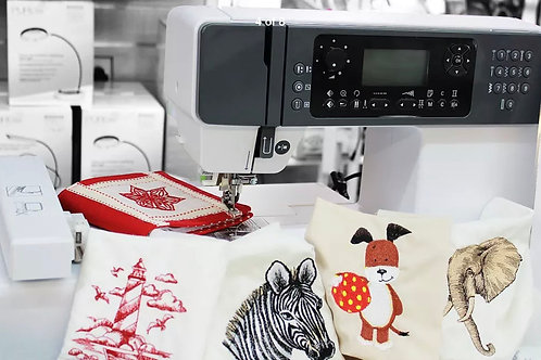 Silver Embroidery Machine H43BX