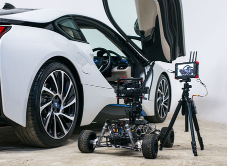 Using a Buggy Cam on an Automotive Studio Shoot