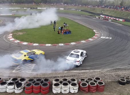Aerial Live Streaming from DJI Inspire 2: British Drift Championships