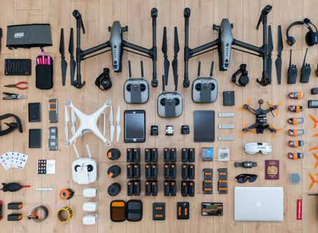 Phil Harris Kit List: Drones