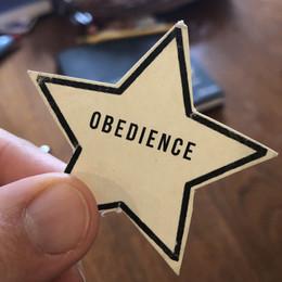"""Greg's Weekly Word: """"obedience"""""""
