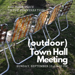 Town Hall, September 13th