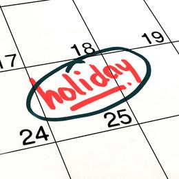 "Greg's Weekly Word: ""holiday"""