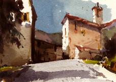 St. Honnorat. Les Alpes de Haute Provence.