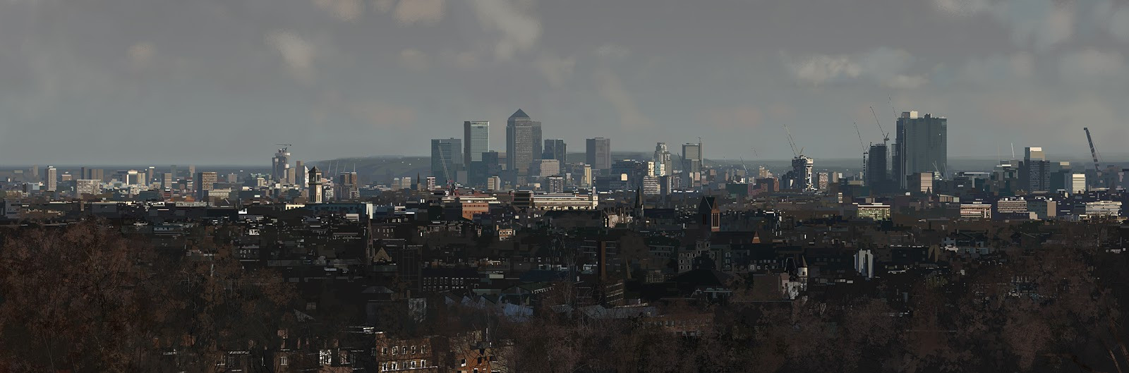 London from Parliament Hill.