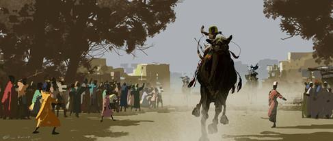 The Camel Race.
