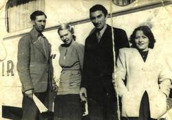 Léon_et_Mariette_Figuier,_Mélodie_et_André_Gazançon