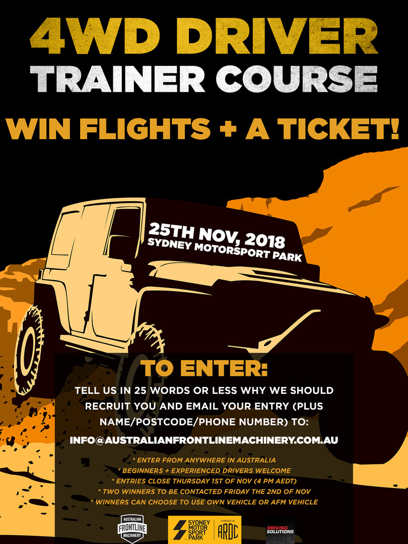 4WD Driver Trainer Course