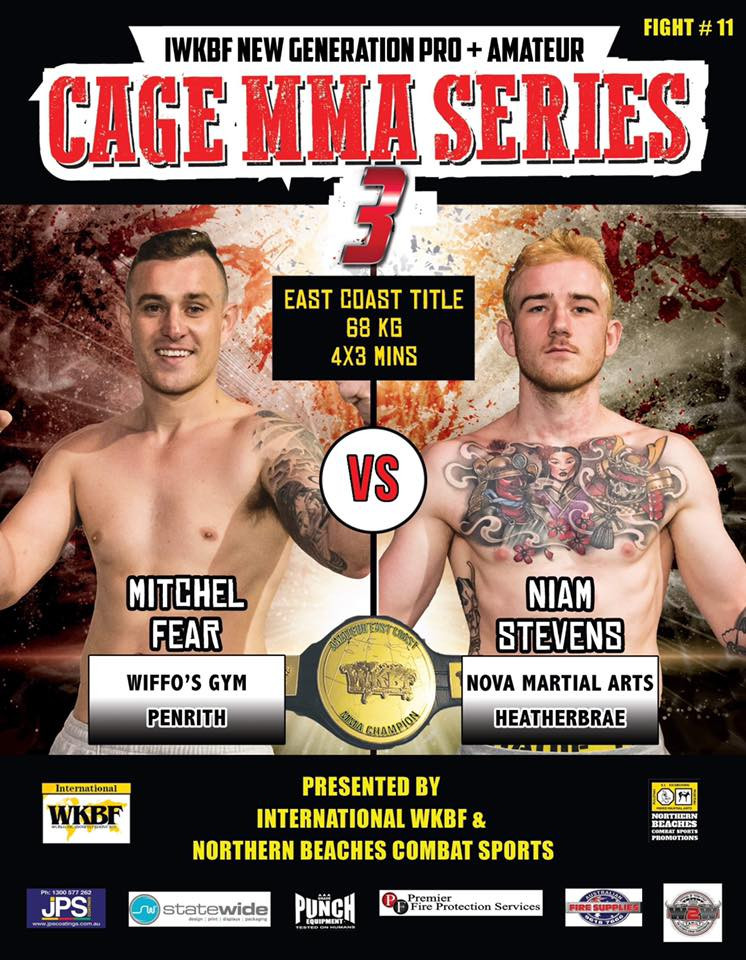 Cage MMA Series 3