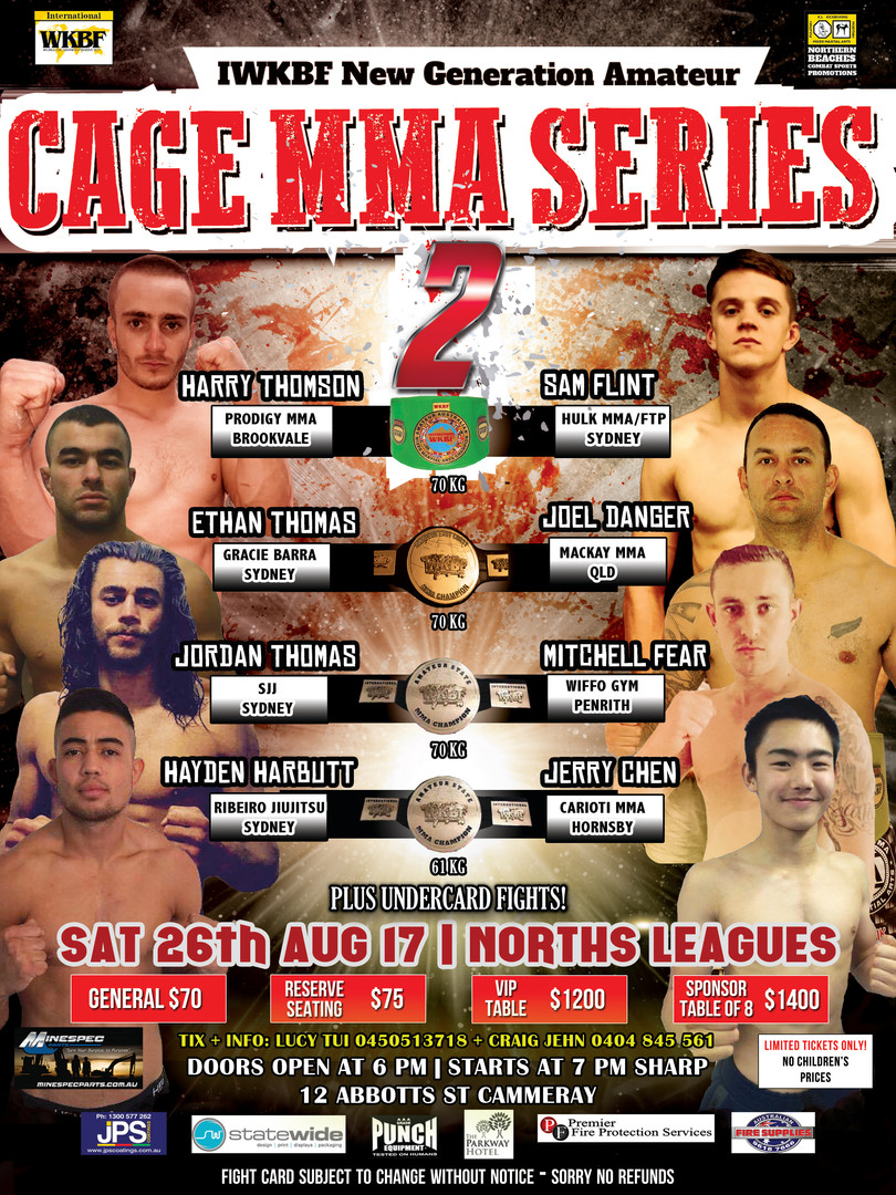 Cage MMA Series 2