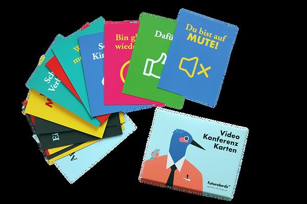 Videokonferenzkarten von futurebirds