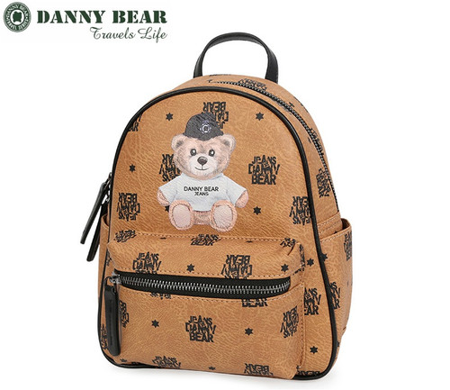 9a3804941e DANNY BEAR TRAVEL SERIES LIMITED BACKPACK (BLUE   BROWN )