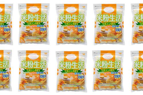 宮崎県産 米粉グルテンミックス 4kgセット