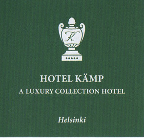 Hotel Kämp recommends Mai Niemi for their guests.