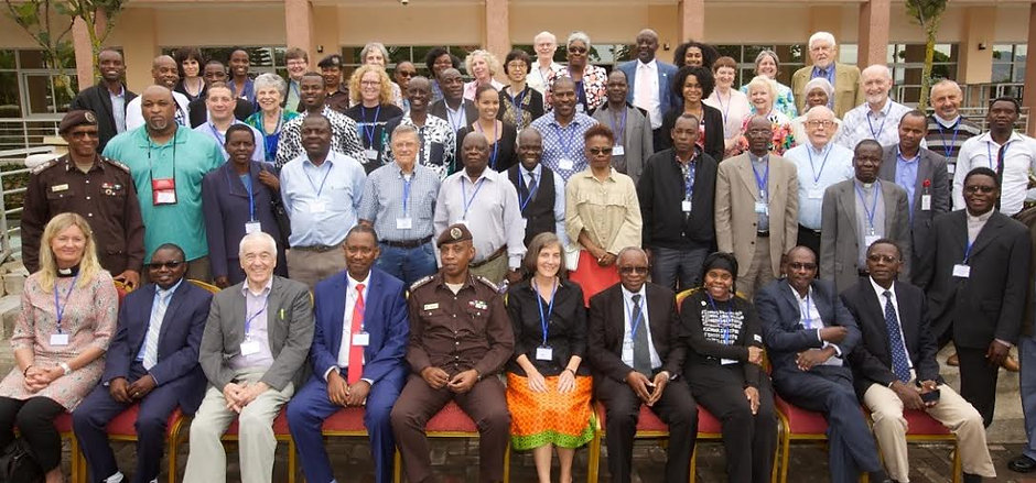 Hans at CURE Rwanda with seventy CURE Representatives from eighteen countries.