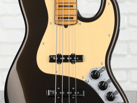 Guitars I Love - Fender American Ultra Jass Bass
