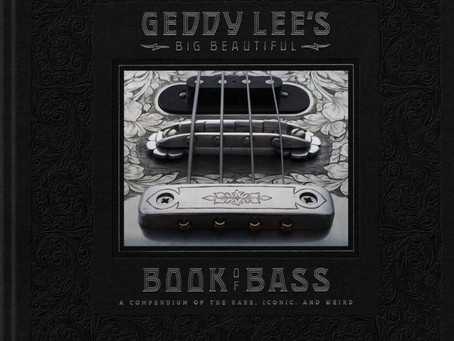 Geddy Lee's Big Beautiful Book of Bass - BOOK REVIEW