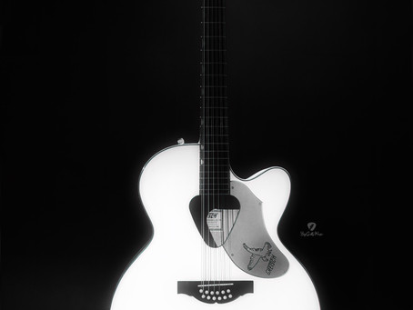 Guitars I Love - Gretsch G5022CWFE-12 Rancher Falcon Jumbo - White