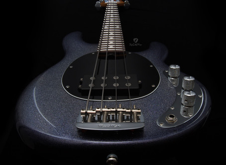 Guitars I Love - Ernie Ball Music Man StingRay Short Scale Bass