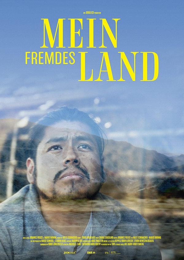 Official Poster MEIN FREMDES LAND created by Studio Bewegtbild