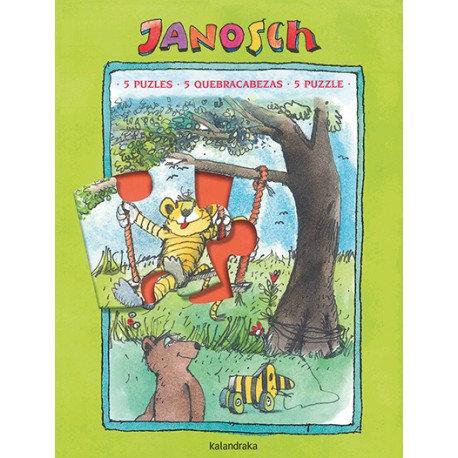 5 Puzzles JANOSCH / Janosch
