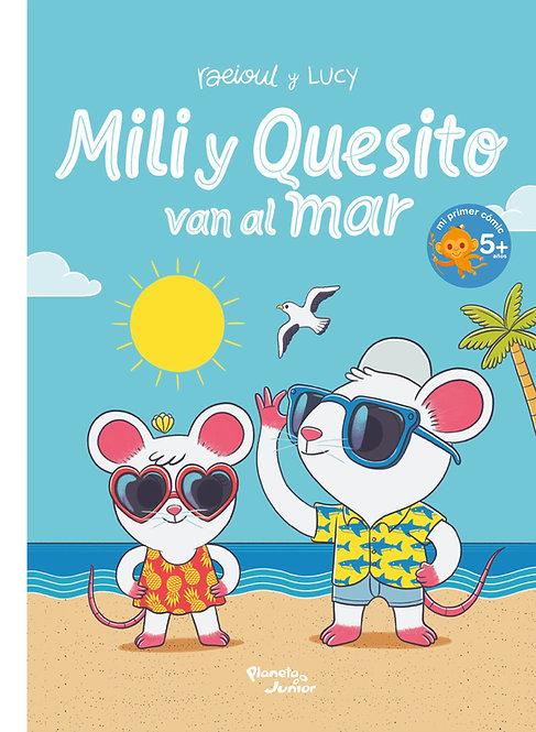 Mili y quesito van al mar / Raul Orozco