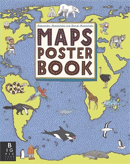 Maps poster books / A. Mizielinski y D. Mizielinski