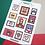 Thumbnail: Hoja de stickers / Paperfest