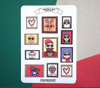 Hoja de stickers / Paperfest