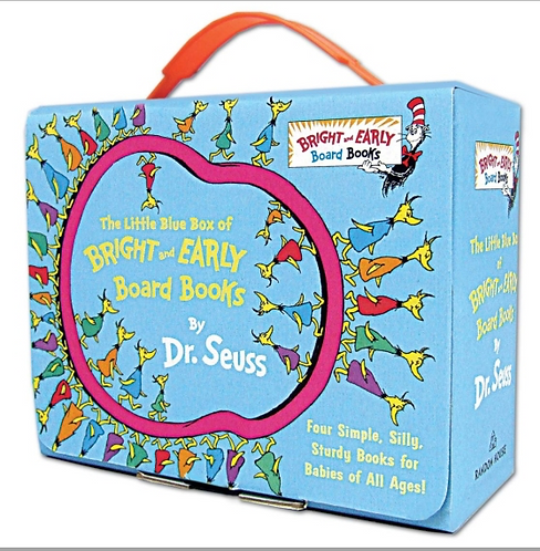 The little blue box of bright and early board books / Dr.Seuss