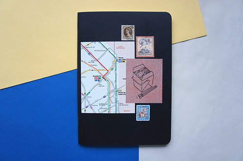 Cuaderno grande collage / Paperfest