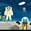 Thumbnail: El profesor Astro Cat y los cohetes espaciales / Dr. Walliman y Newman.