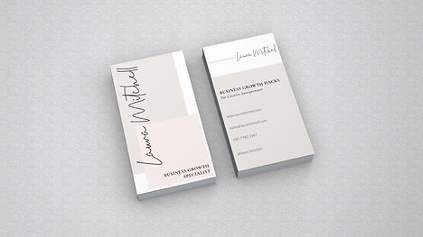 Laura Loves Business Cards - 1