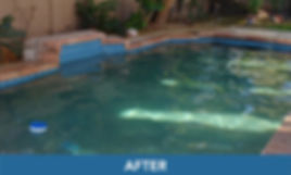 gilbert pool after weekly pool service