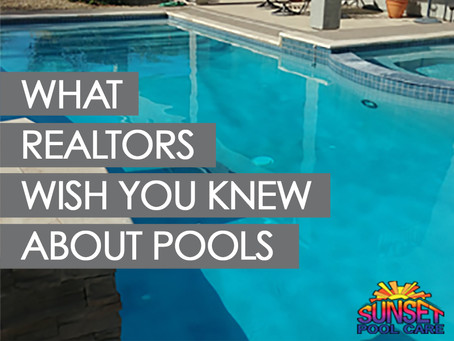 What Realtors Wish You Knew About Your Pool