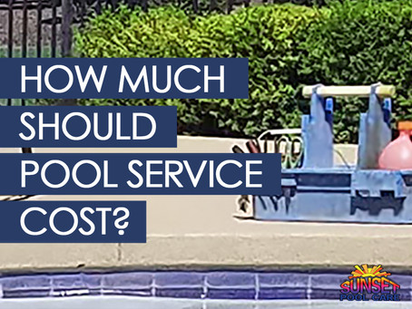 How Much Does Pool Service Cost?