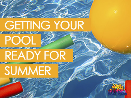Getting Your Pool Ready For Summer