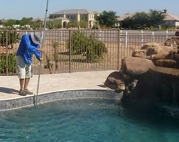 pool service, maintenance & proper chemical balance