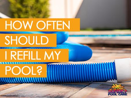 How Often Should I Refill My Pool?