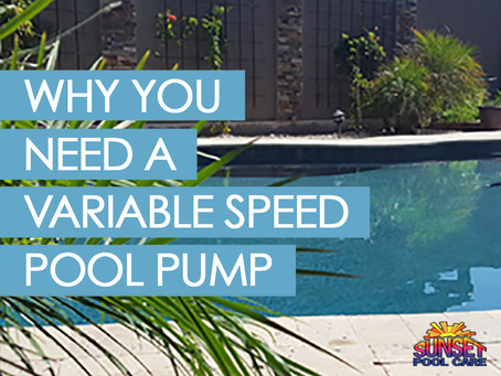 Why You Need A Variable Speed Pool Pump